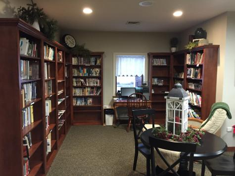 our library corner